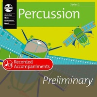 PERCUSSION PRELIM SERIES 1 RECORDED ACCOMP CD