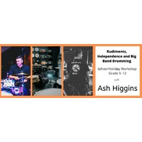 ASH HIGGINS WORKSHOP - FULL DAY