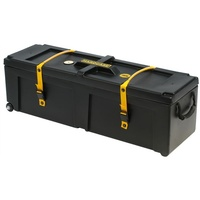 40 INCH DRUM HARDWARE CASE W/WHEEL BLACK