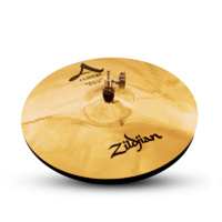 "Zildjian 14"" A Custom Brilliant Hi Hat Cymbals"