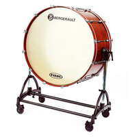 Bergerault 36 x22 Inch Concert Bass Drum with Tilting Stand