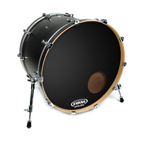 18 INCH BASS DRUM HEAD RESONANT BLACK
