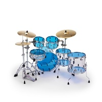Remo Emperor Colortone Blue Drum Head