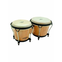 LP CP Traditional Bongos - Natural Wood