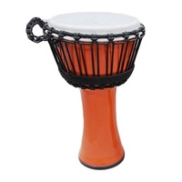 Samba Djembe 7 Inch Rope Tuned [Orange]