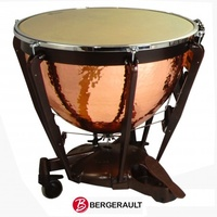 "Bergerault 26"" Grand Professional Series Hand Hammered Copper Timpani"