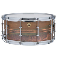 "Ludwig Copper Phonic 6.5x14"" Snare Drum"