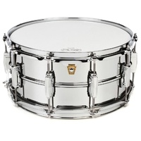 "Ludwig Supraphonic Chrome 6.5 x 14"" Snare Drum"