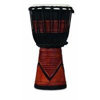 LP WORLD BEAT WOOD ART SMALL DJEMBE BLACK