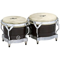 M201-BKWC MATADOR WOOD BONGOS BLACK/CHROME