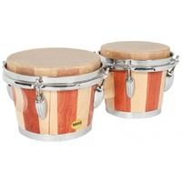 "Mano Percussion 7"" & 8"" Natural Skin Bongos"