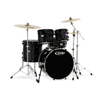 PDP MAINSTAGE 5 PIECE KIT WITH HARDWARE METALLIC BLACK