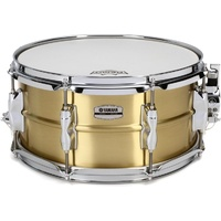 "Yamaha Recording Custom Brass Snare Drum  - 13"" X 6.5"""