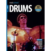 ROCKSCHOOL DRUMS GRADE 6 2018-2024 BOOK/OA