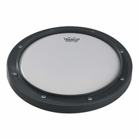 "Remo 8"" Gray Tunable Practice Pad with Ambassador Coated Drumhead"