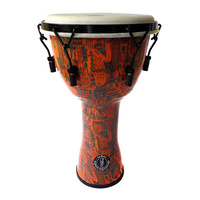Samba Djembe 10 Inch Lug Tuned [Tribal Design]