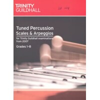 Tuned Percussion Scales & Arpeggios Gr1-8 Book