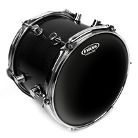 10 INCH TOM TOM HEAD BLACK CHROME CLR BATTER TT1