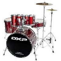 "DXP TX06PWR Fusion 20"" Wine Red Drumkit"