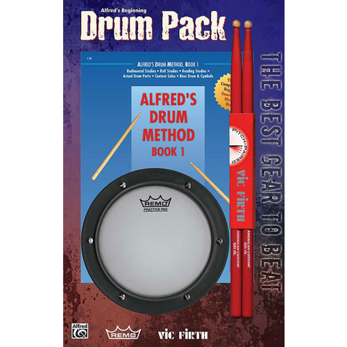 Alfred's Beginning Drum Pack