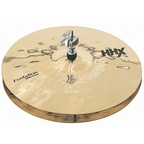 "SABIAN HHX 14"" EVOLUTION HI-HATS BRILLIANT CYMBAL"