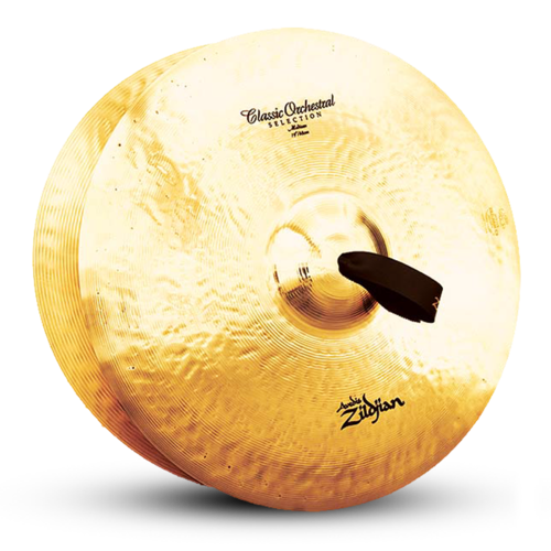 "Zildjian 18"" A Classic Orchestral Medium Light Cymbals"