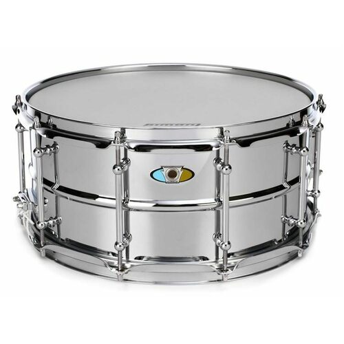LUDWIG SUPRALITE STEEL SNARE 5.5X14 INCH
