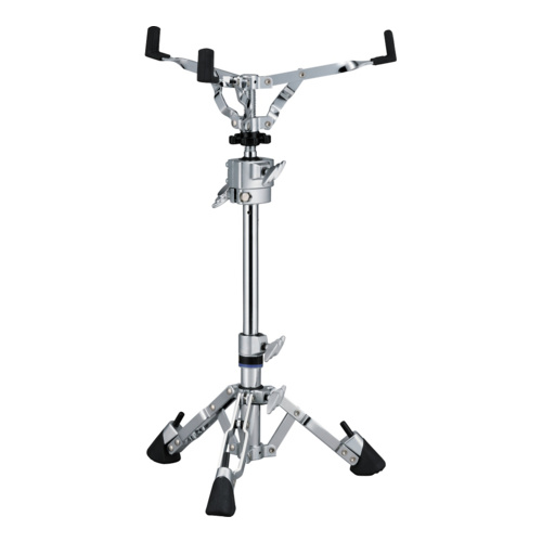 SNARE DRUM STAND W/BALL CLAMP CHROME DOUBLE BRAC