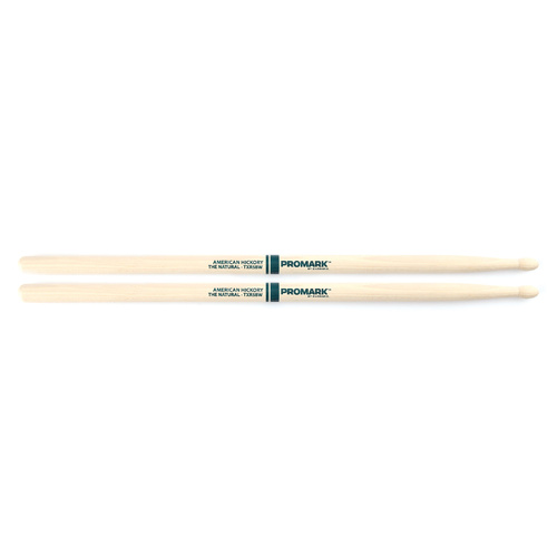 5B WOOD TIP DRUMSTICKS THE NATURAL AMERICAN HICK