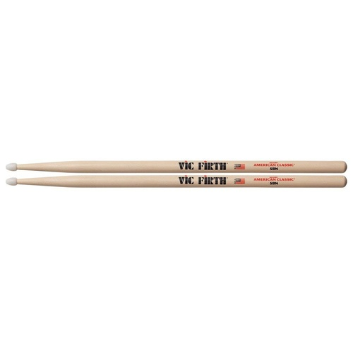 Vic Firth 5BN Hickory Nylon Tip Drum Sticks