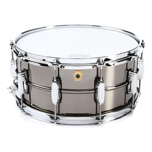 LUDWIG BLACK BEAUTY BRASS 6.5X14IN SMOOTH SHELL